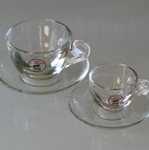 Ottolina coffee cups glass