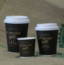 Cappuccino Disposable cups 12 Oz